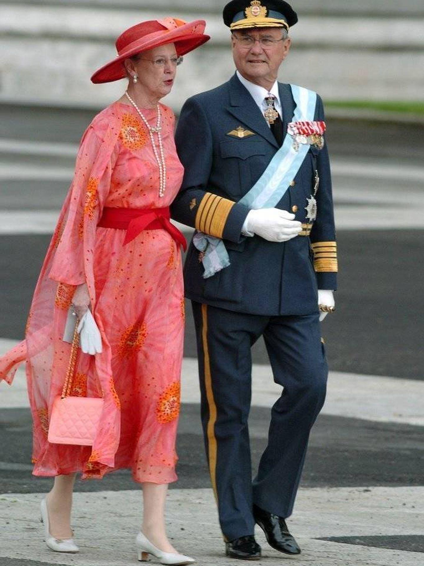 Margarita de Dinamarca, en la boda de los Príncipes de Asturias. (EFE)