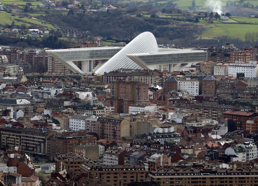 Foto: El Palacio de Congresos de Oviedo. (EFE)