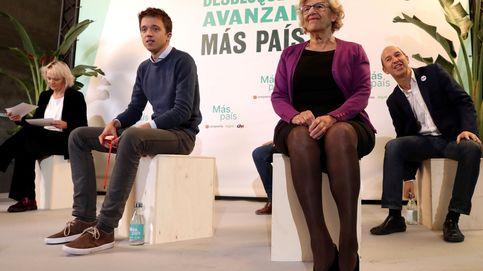 Carmena también abandona a Errejón: Más País se queda sin su principal referente