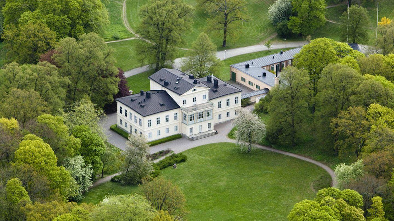 Vista general del castillo de Haga. (Klas Sjöberg / Casa Real de Suecia)