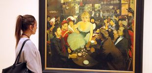 Post de La fiesta revolucionaria de Toulouse-Lautrec, Signac y Redon que cerró el XIX