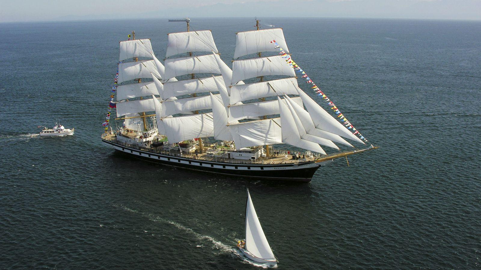 Foto: Barco de vela similar al logo de Vanguard. (Corbis)