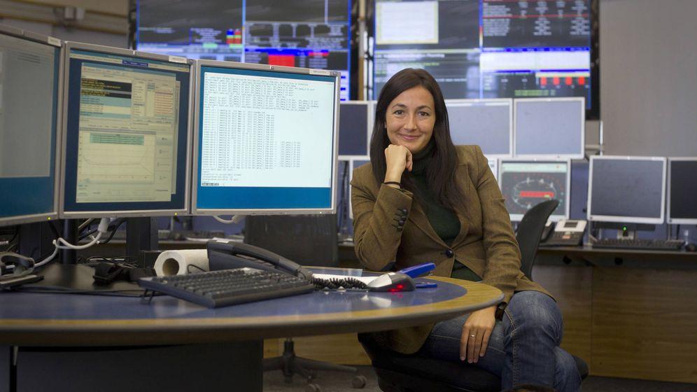 Foto: Sonia Fernández-Vidal en el CERN (Imagen cedida)