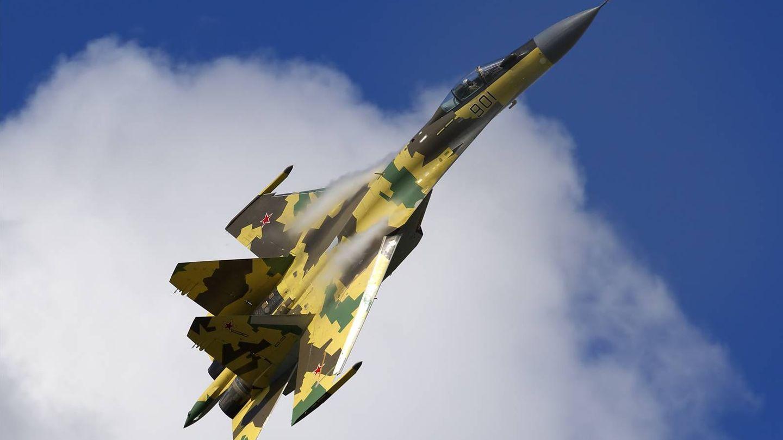 El caza ruso Su-35BM. (Foto: Oleg Belyakov)