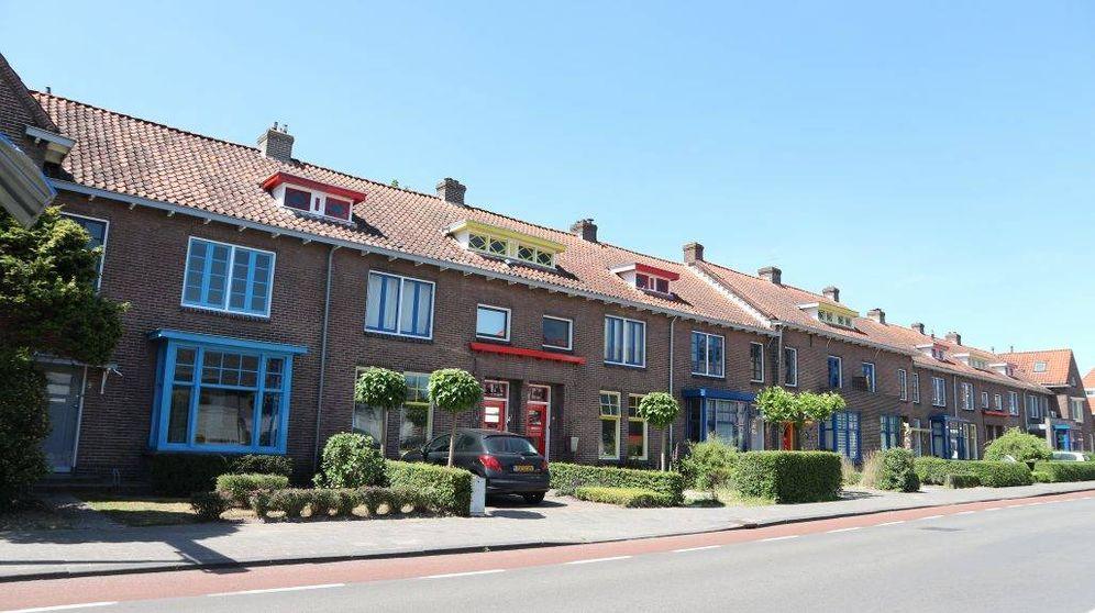 Foto: El barrio de Torenstraat de Drachten recupera el diseño de De Stijl (Museum Dr8888)