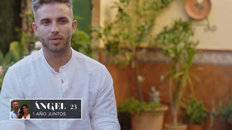 Ángel, participante de 'La isla de las tentaciones 2'. (Mediaset)
