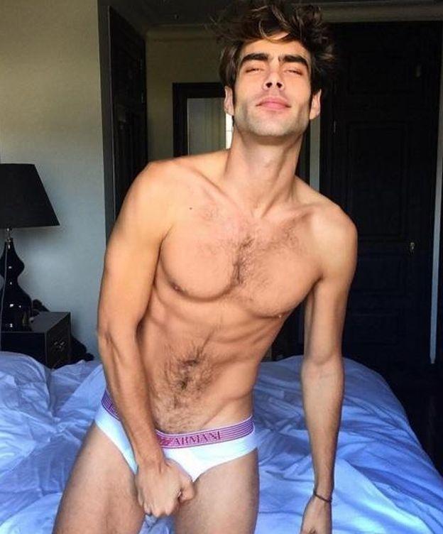 Foto: Kortajarena tras posar para 'Vogue Hommes' (Instagram)