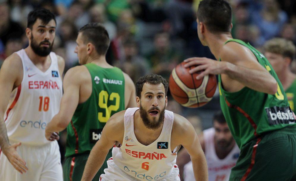 Foto: A España le quedan dos entrenamientos en Madrid antes de viajar a Cluj (Rumanía) para el EuroBasket. (EFE)