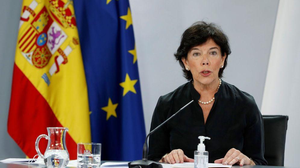 Foto: Isabel Celaá. (EFE)