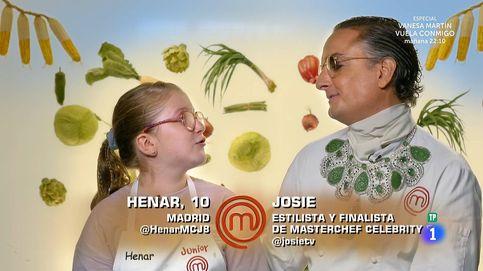 'Masterchef Junior': Josie 'transforma' a Henar en Eugenia de Montijo