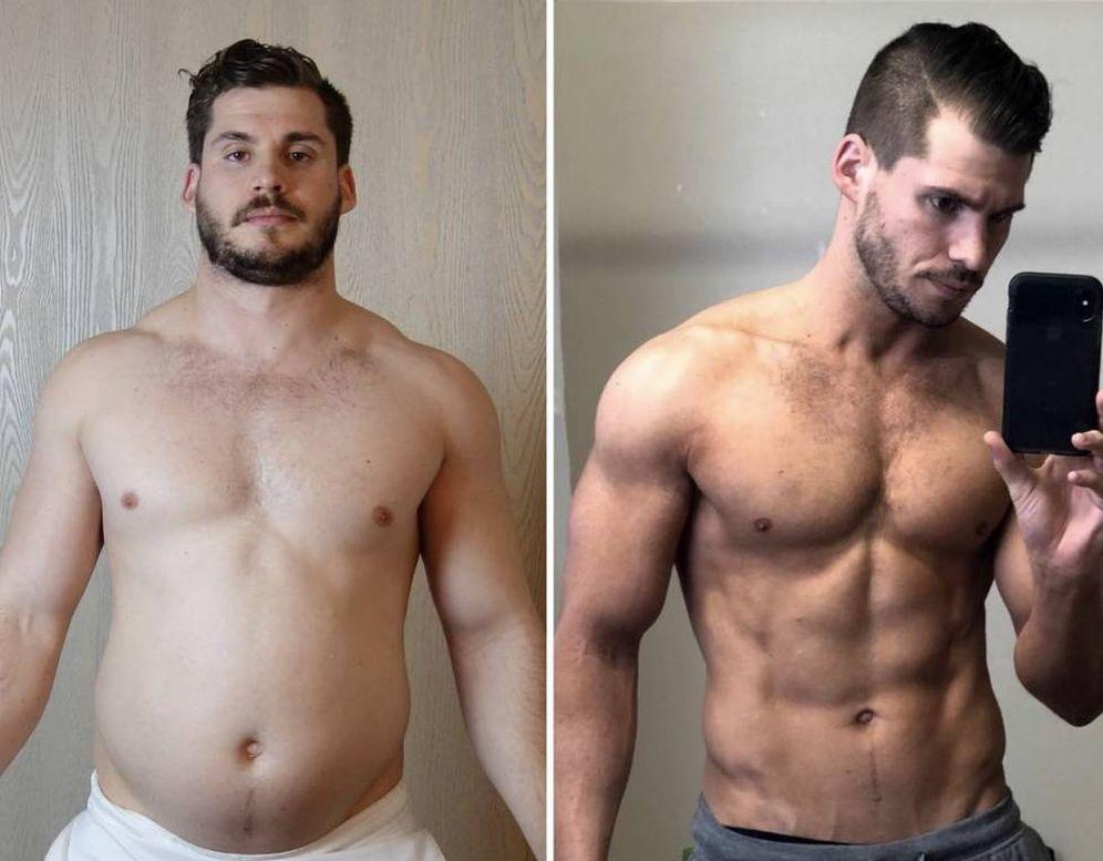 trucos adelgazar este hombre perdi 19 kilos en 12 semanas la rutina que sigui. Black Bedroom Furniture Sets. Home Design Ideas
