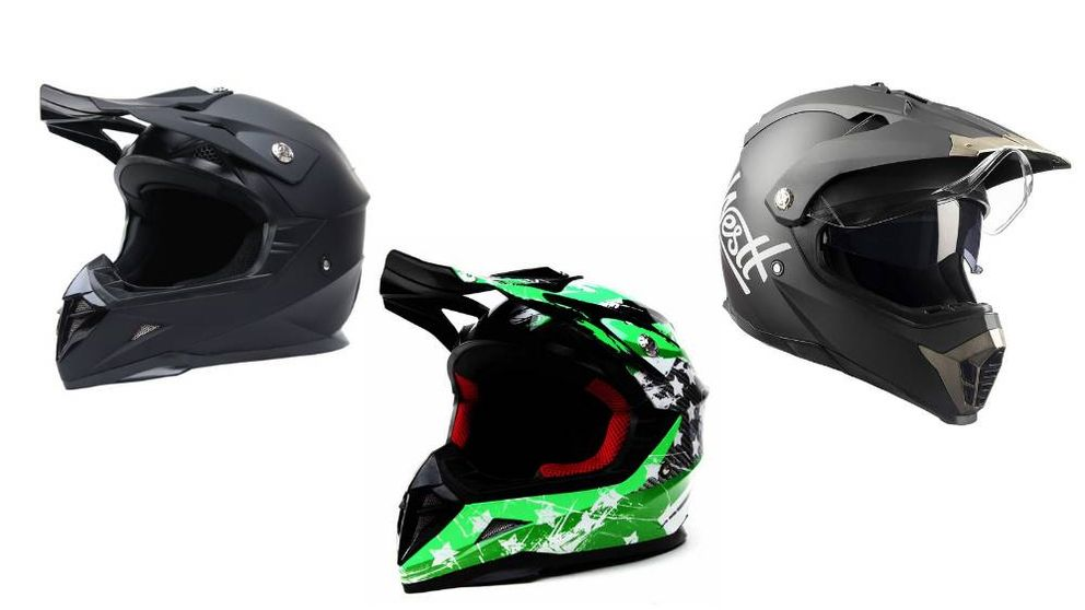Los mejores cascos para motocross para niños y adultos