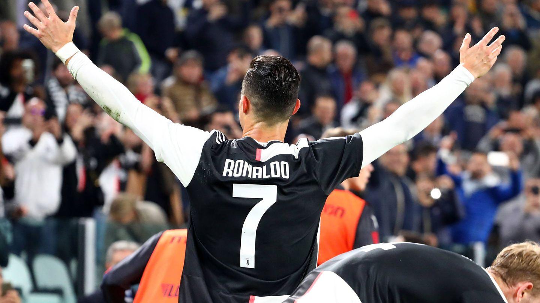 Cristiano Ronaldo celebra un gol este pasado fin de semana. (Getty)
