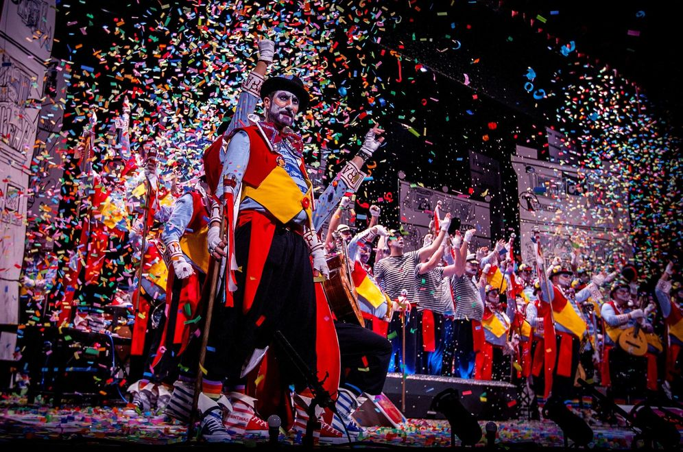 Foto: Carnaval de Cádiz en 2018 (EFE)