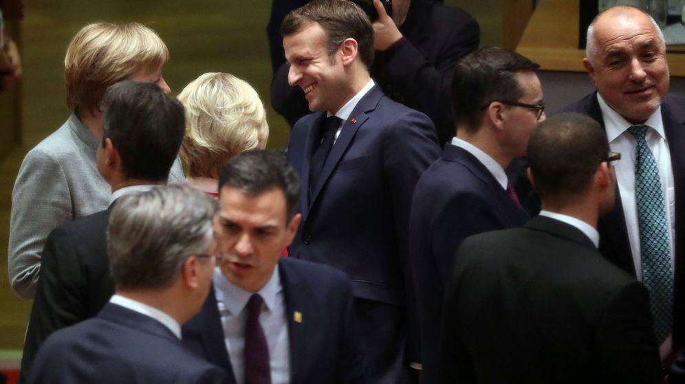 Foto: Cumbre de líderes de la Unión Europea. (Reuters)