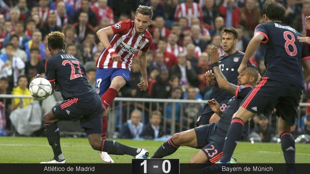 Una obra de ingeniería de Saúl hace al Atlético creerse que será campeón
