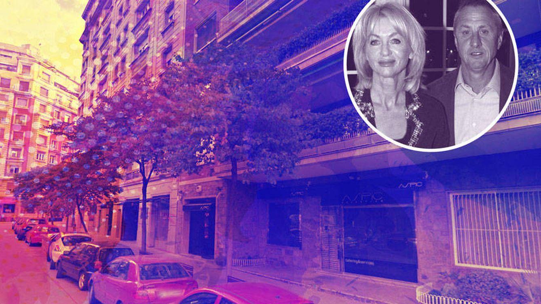 Danny, la viuda de Cruyff, se muda al edificio en el que vivían Samaranch y Bibis Salisachs