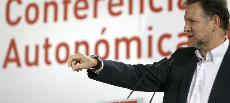 Foto: El portavoz socialista en el Senado, Marcelino Iglesias. (EFE)