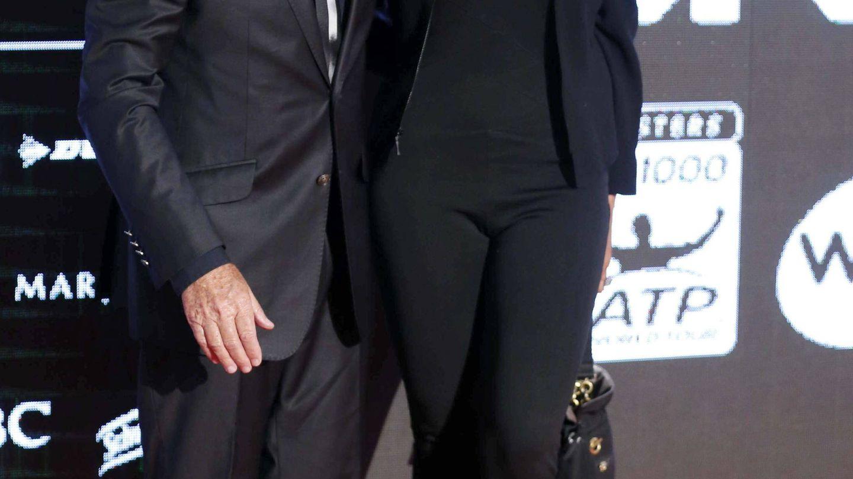 Manolo Santana y Claudia Rodríguez. (EFE)