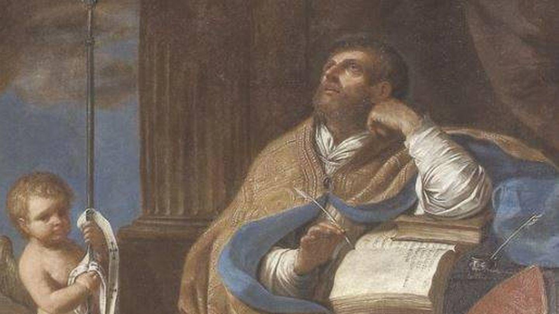 Pintura de San Pedro Crisólogo. (C.C.)