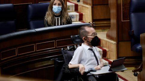 El no de UP impide que el Congreso condene la violencia en las protestas por Hasél