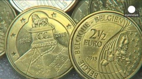 Así son las monedas de 2,5 € que han acuñado los belgas contra los franceses