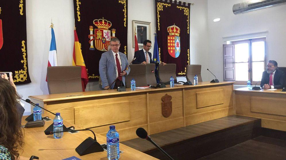 Foto: El nuevo alcalde socialista de Brunete, José Manuel Hoyos. (EFE)