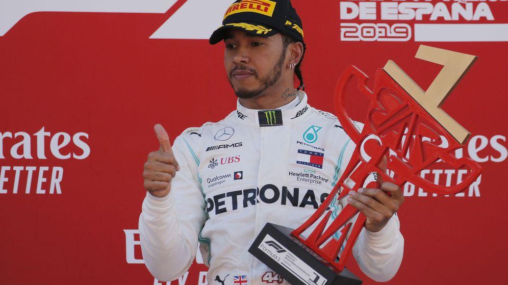 Foto: Hamilton no tuvo rival en España. (Reuters)