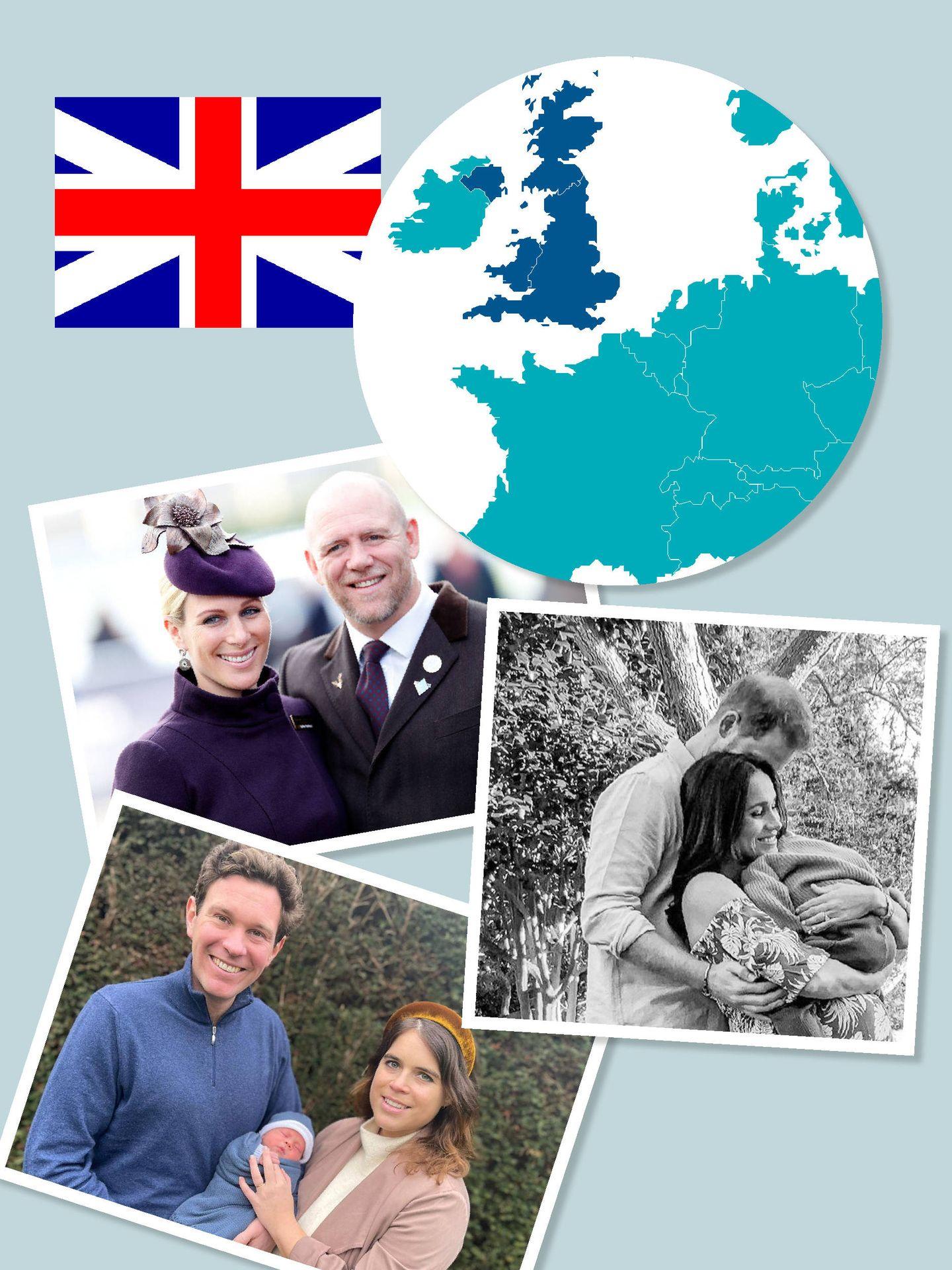El 'baby boom' royal en Europa. (Vanitatis)