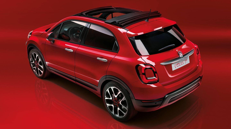 El (500X)RED dispone de una opción gasolina de 120 caballos y otra diésel, de 130.