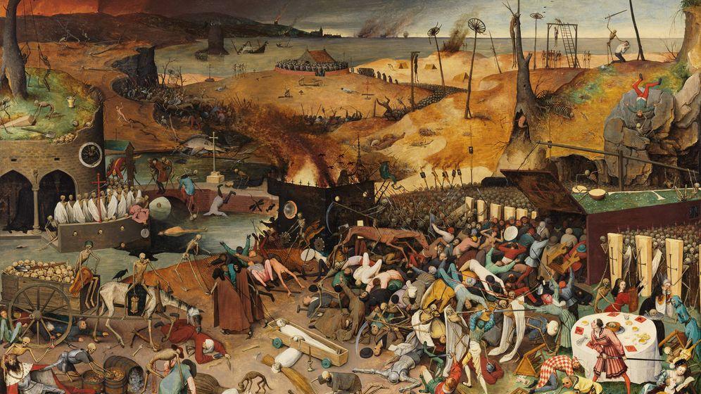Foto: 'El Triunfo de la muerte' de Pieter Brueghel el Viejo.