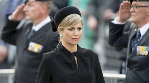 Máxima de Holanda, destrozada en el entierro de su hermana