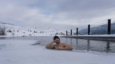 Los beneficios de bañarse en hielo