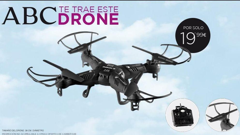ABC se hace un Marhuenda y vuela en los kioscos gracias al drone