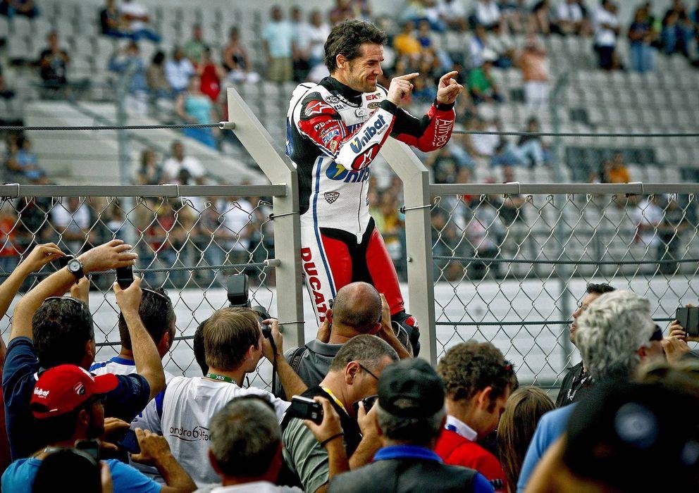 Foto: Carlos checa estrena su título de campeón del mundo de superbike con una victoria en la prueba de portimao