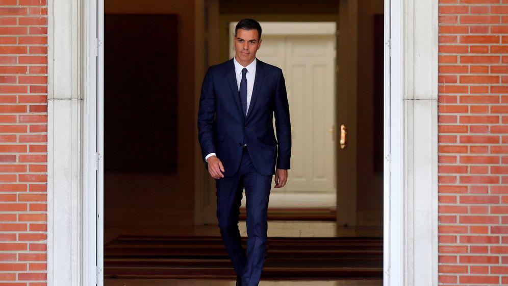 Foto: Pedro Sánchez en el Palacio de la Moncloa. (EFE)