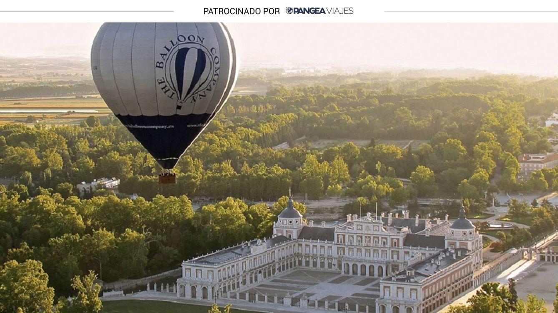 Paseo en globo sobre Aranjuez: Palacio Real, Jardines y visita guiada