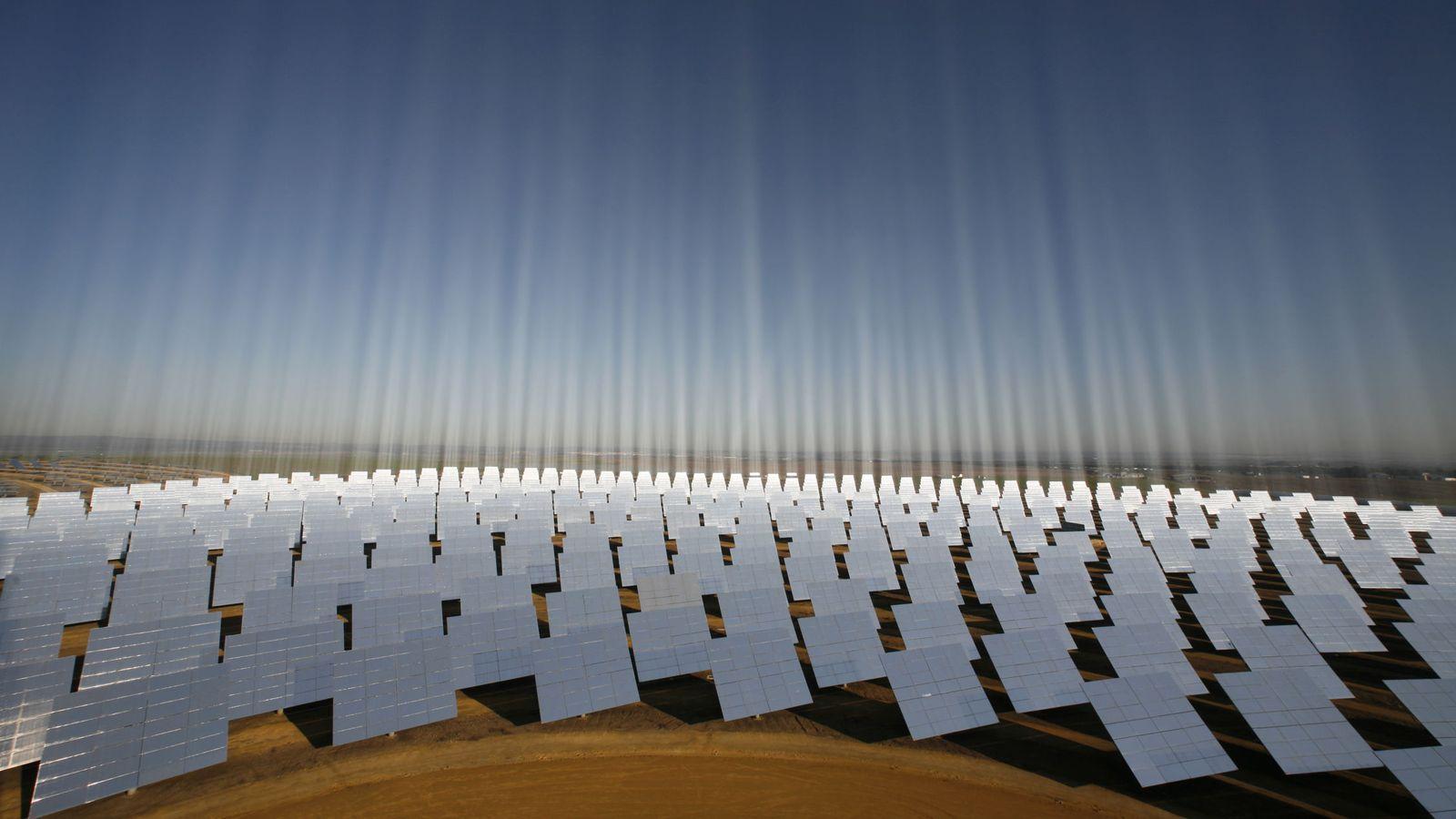 Foto: Planta de energía solar en España. (Reuters)
