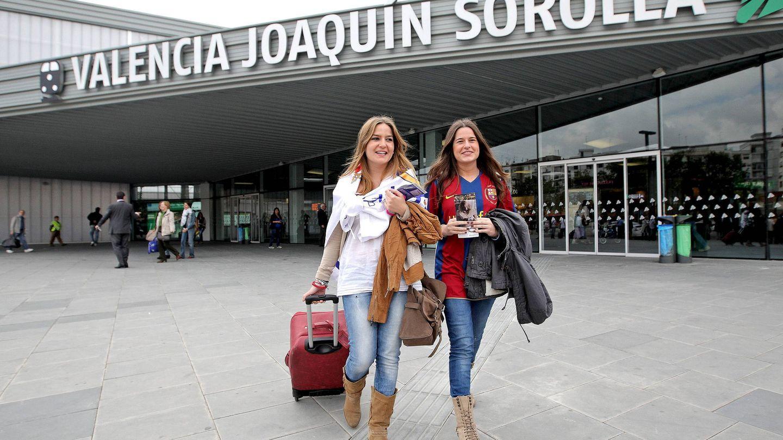 La estación Joaquín Sorolla de Valencia, de salida y llegada de los trenes Euromed de Barcelona. (Efe)