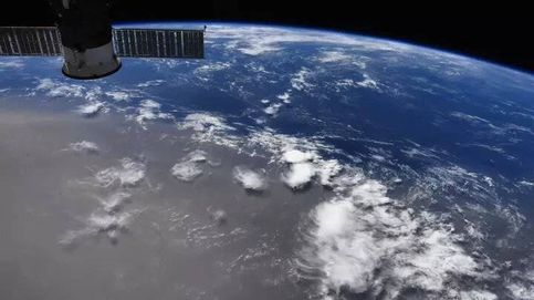 Así se ve desde el espacio esta espectacular nube de polvo