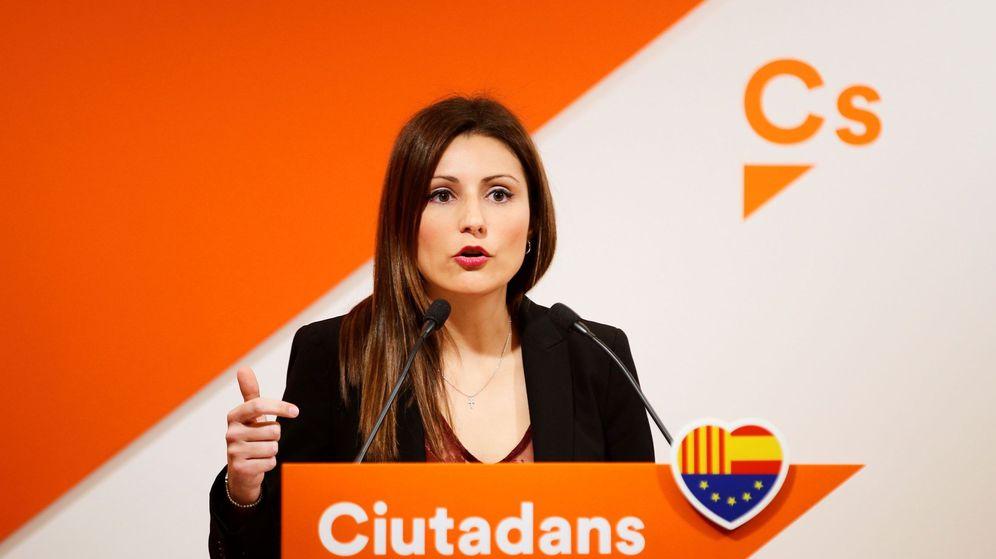Foto: La diputada de Ciudadanos en el Parlament de Cataluña y portavoz del partido en el Senado, Lorena Roldán. (EFE)