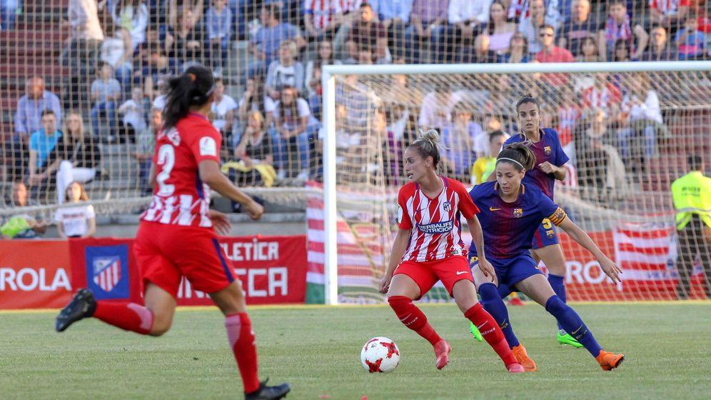 Foto: El Madrid sigue sin equipo femenino. (EFE)