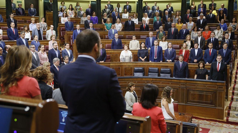 El Congreso guarda un minuto de silencio por Blanco tras el veto de Bildu