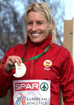 Marta Domínguez dio a España el primer oro en 14 años