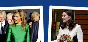 Post de Estilo Real: del look mini de Kate Middleton al vestido vibrante de Máxima