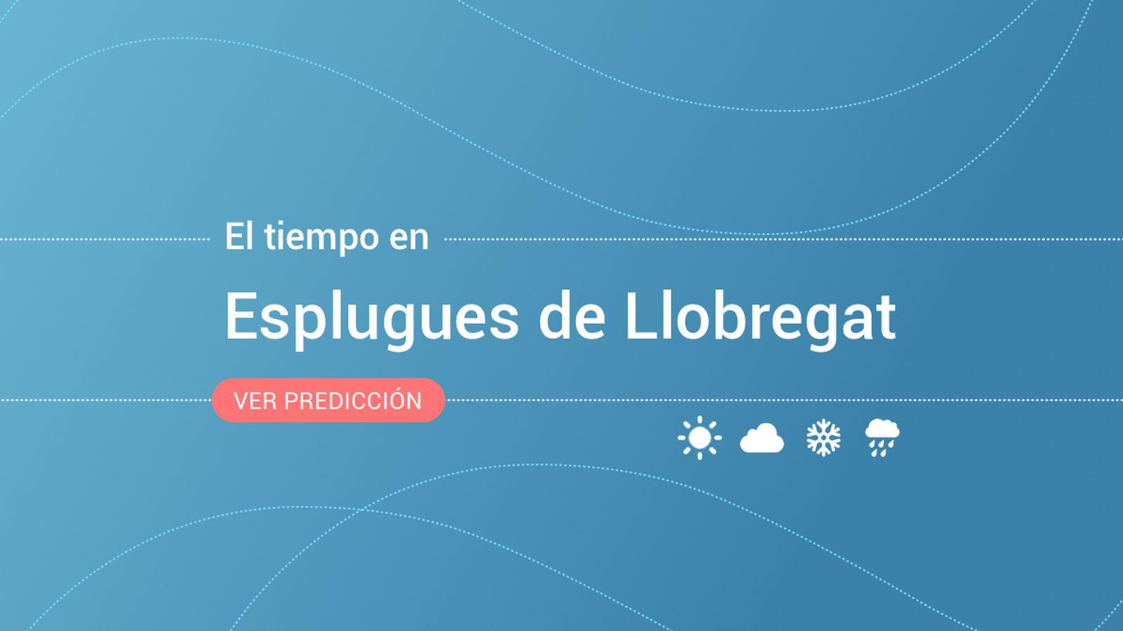 Foto: El tiempo en Esplugues de Llobregat. (EC)