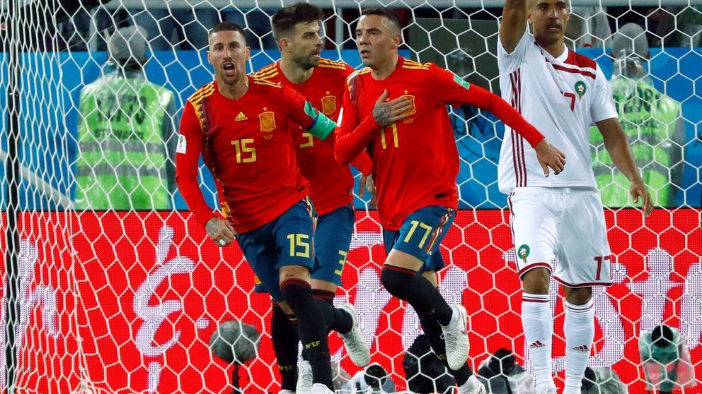El minuto 'loco' que cambió la suerte de España (y, quizá, la del Mundial)