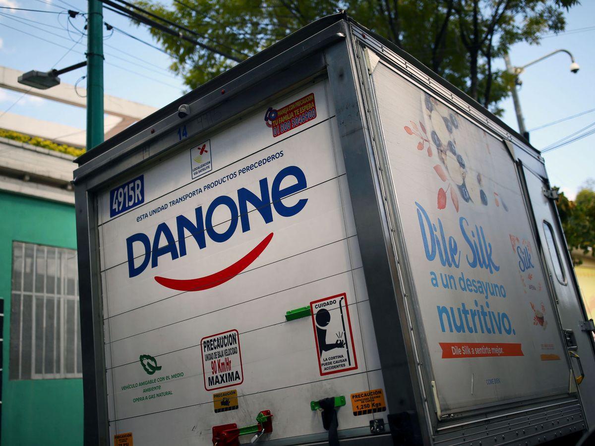 Foto: Camión de Danone
