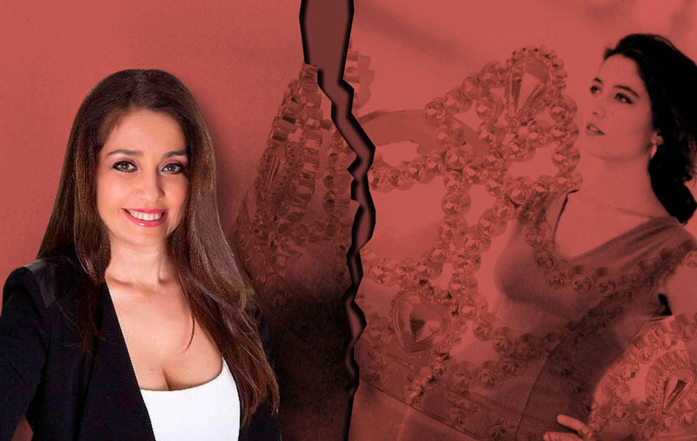 Foto: Carmen López Santana, en un fotomontaje realizado por 'Vanitatis'