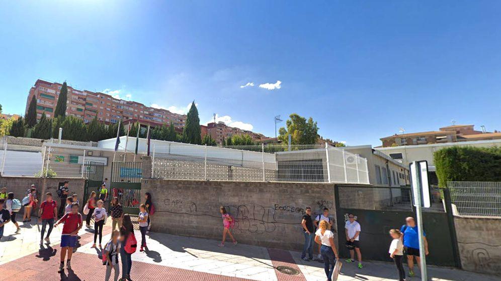 Foto: El Instituto Az-Zait de Jaén, donde se produjo el triste suceso (Foto: Google Maps)